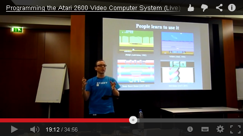 Programming the Atari 2600 Video Computer System (Live)