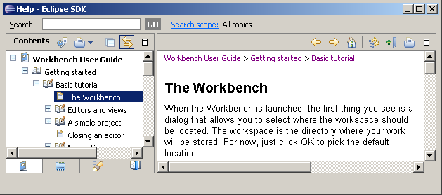 Workbench user guide
