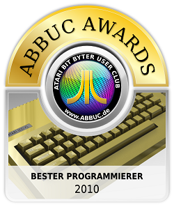 ABBUC Award 2010 - Best coder