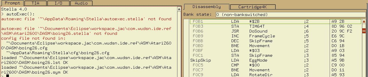 WUDSN - 8-bit are enough - Coding, demos and fun with Atari